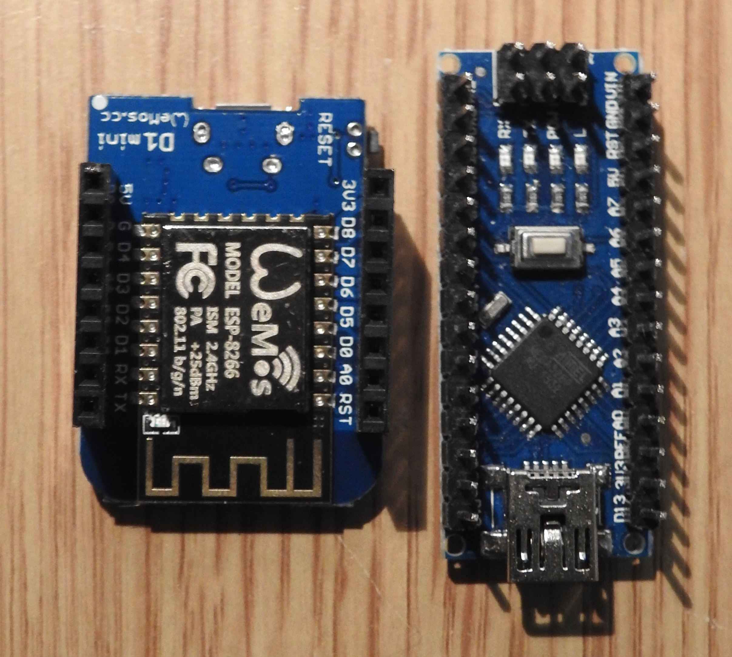 Wemos d mini hardware esp learning